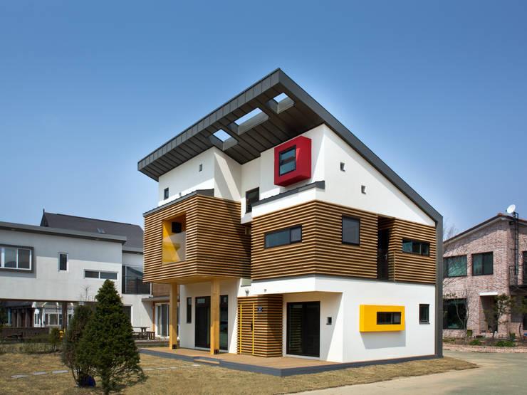 Projekty,  Domy zaprojektowane przez KDDH Architects