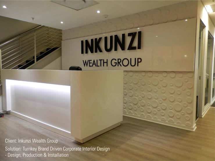 INKUNZIWG Reception Desk:   by MNDSA Environmental