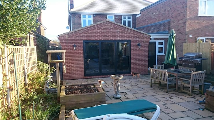 Extension Finished:   by JMAD Architecture (previously known as Jenny McIntee Architectural Design)