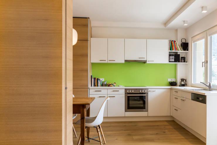 مطبخ تنفيذ Manuel Benedikter Architekt