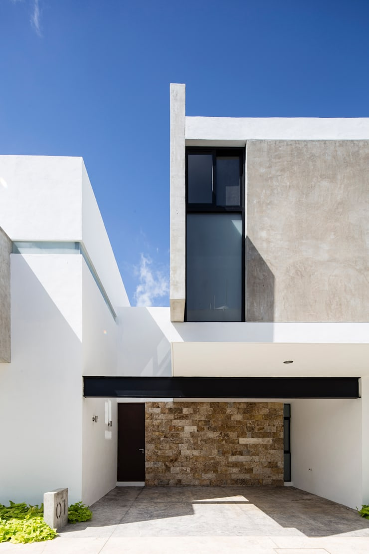 EZ4: Casas de estilo  por P11 ARQUITECTOS