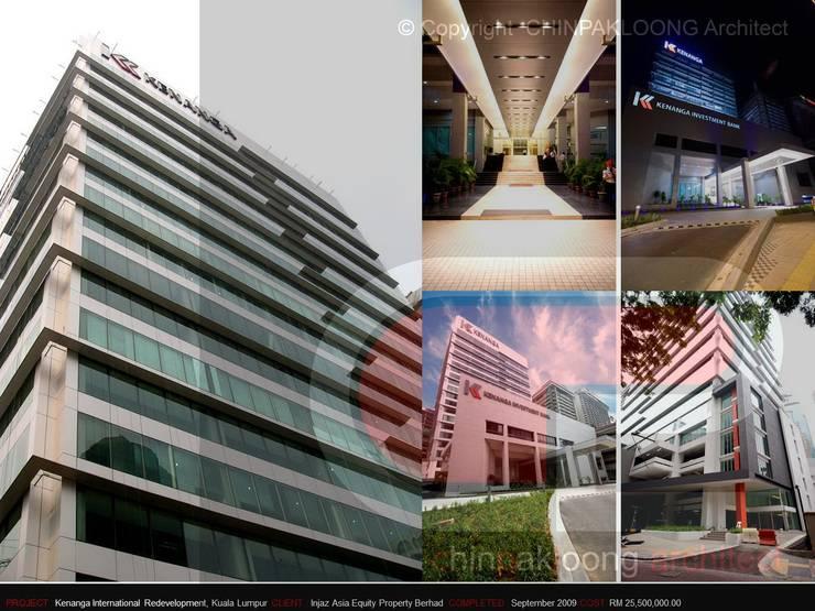 Kenanga International Redevelopment:  Office buildings by CHINPAKLOONG Architect