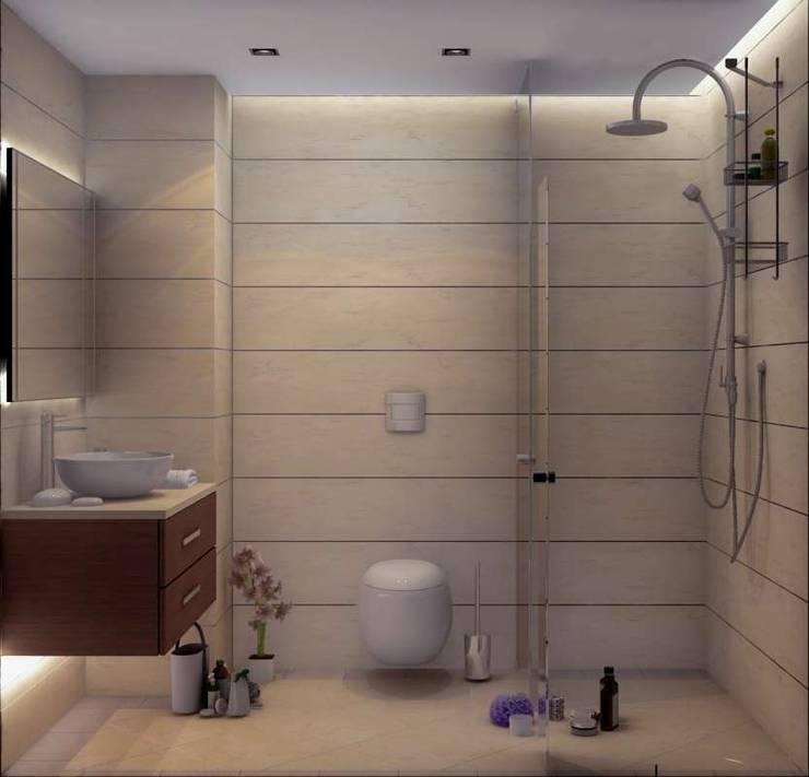 Ванные комнаты в . Автор – VERO CONCEPT MİMARLIK