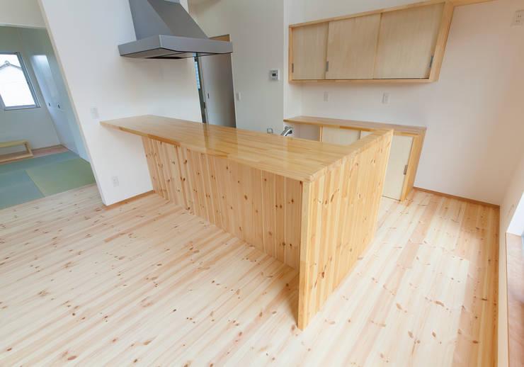 廚房 by 中村建築研究室 エヌラボ(n-lab)