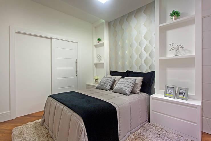 غرفة نوم تنفيذ Arquiteto Aquiles Nícolas Kílaris