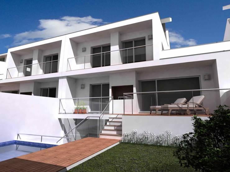 Loteamento Quinta Da Marina: Casas  por José Vitória Arquitectura