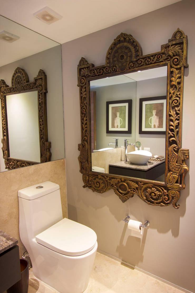 Departamento GS: Baños de estilo  por Concepto Taller de Arquitectura