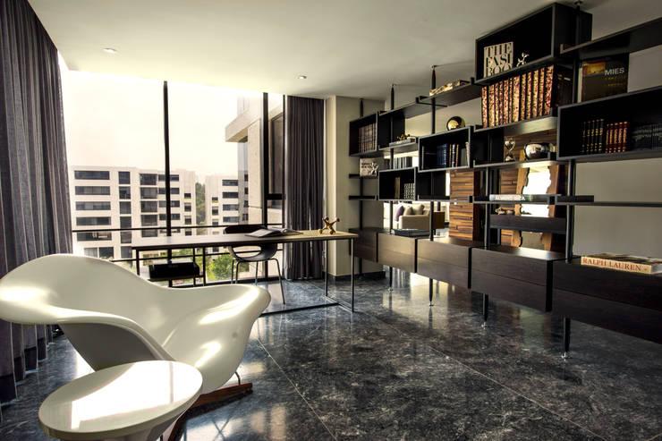 Departamento ML:  de estilo tropical por Concepto Taller de Arquitectura, Tropical