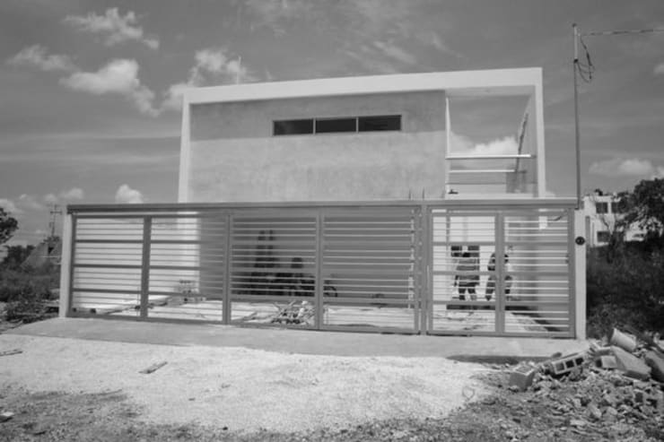 Residencia NY: Casas de estilo  por Base cubica Arquitectos