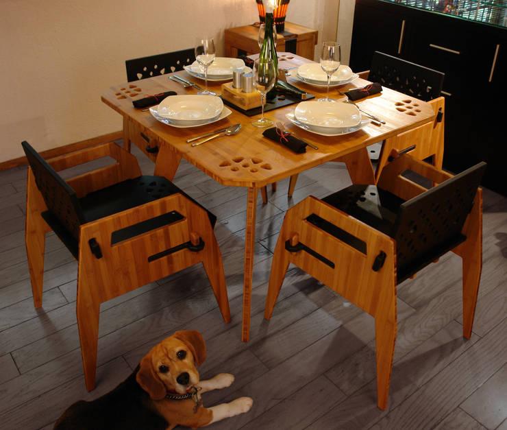 Comedor MayoCinco : Comedor de estilo  por Wedgewood Furniture