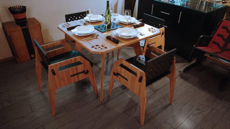Comedor MayoCinco 2: Comedor de estilo  por Wedgewood Furniture