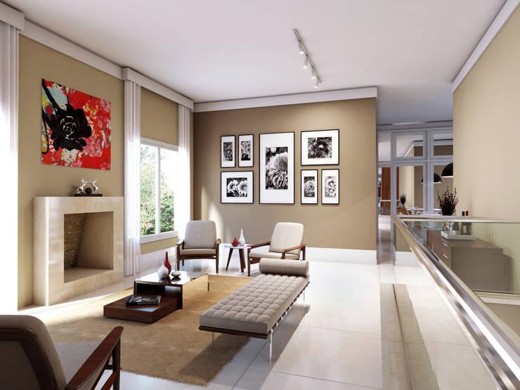 Living room by canatelli arquitetura e design