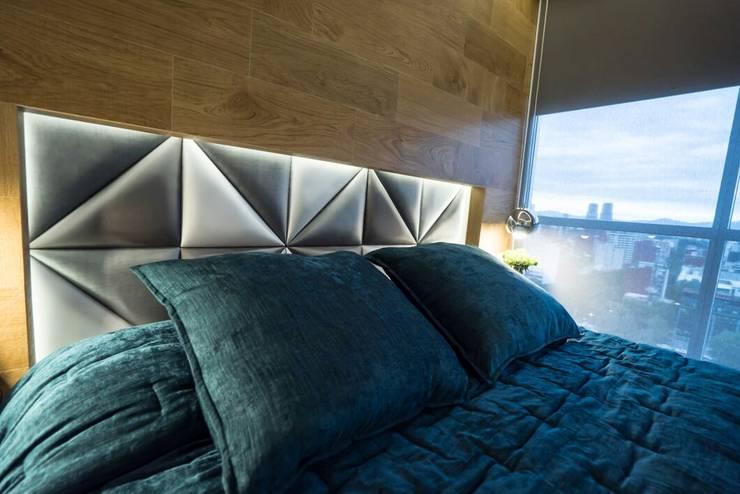 Cuartos de estilo  por HO arquitectura de interiores