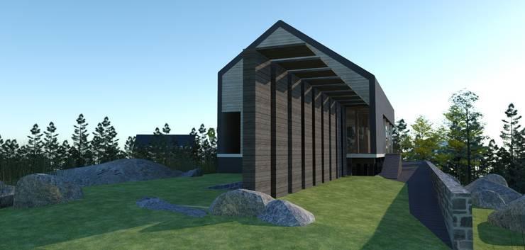 Casa K22:  de estilo  por Grupo Pi Victtus