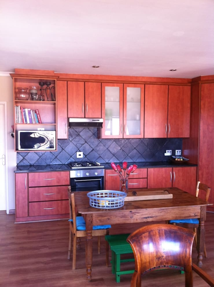Before Make-over:   by Cape Kitchen Designs