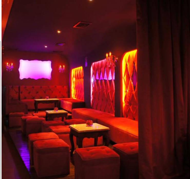 Bar Rouge-Privados y DJ: Bares y Clubs de estilo  por 1en1arquitectos