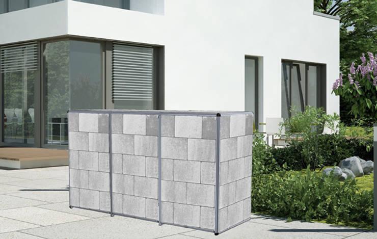 Mülltonnenbox ToPaBox: moderner Garten von Rollomeister
