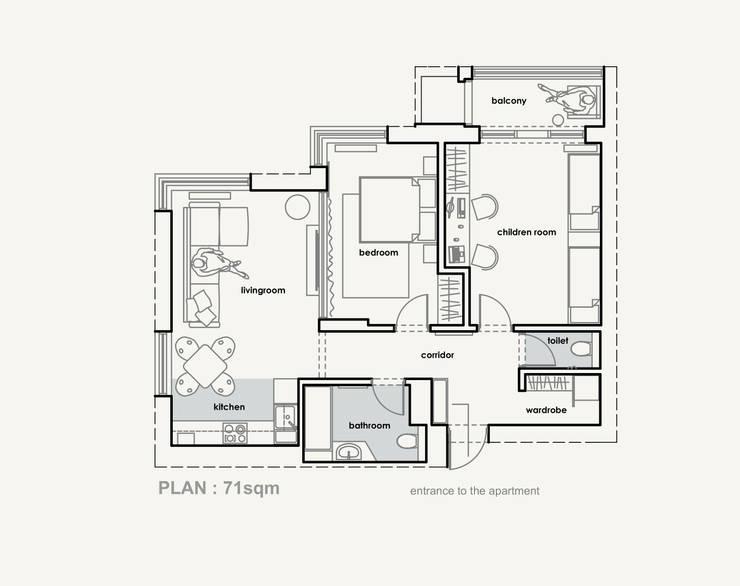 Loft 71:  в . Автор – Polygon arch&des