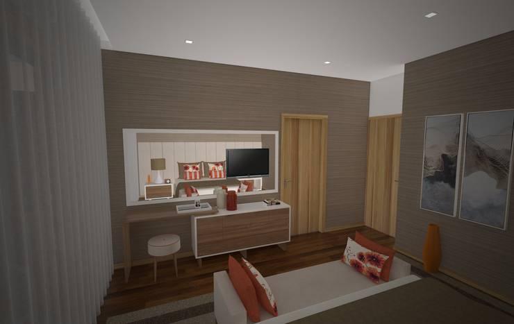 Suite : Quartos  por Areabranca