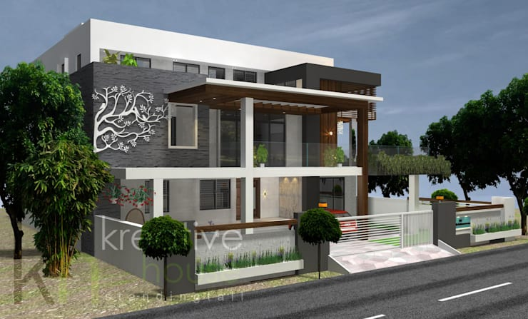 Houses by KREATIVE HOUSE,