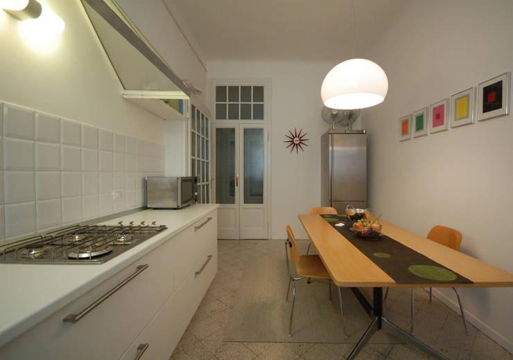 مطبخ تنفيذ Fabio Azzolina Architetto