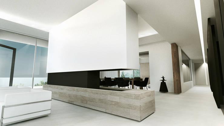Villa e - Saint-Tropez par ARRIVETZ & BELLE | homify