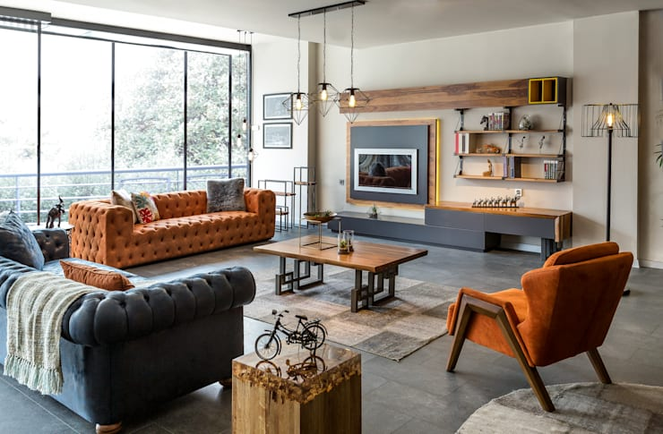GESD MOBİLYA – Gesd mobilya:  tarz , Endüstriyel Ahşap Ahşap rengi
