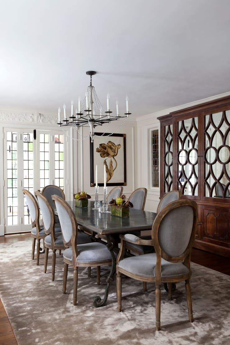 Haverford :  Dining room by Mel McDaniel Design