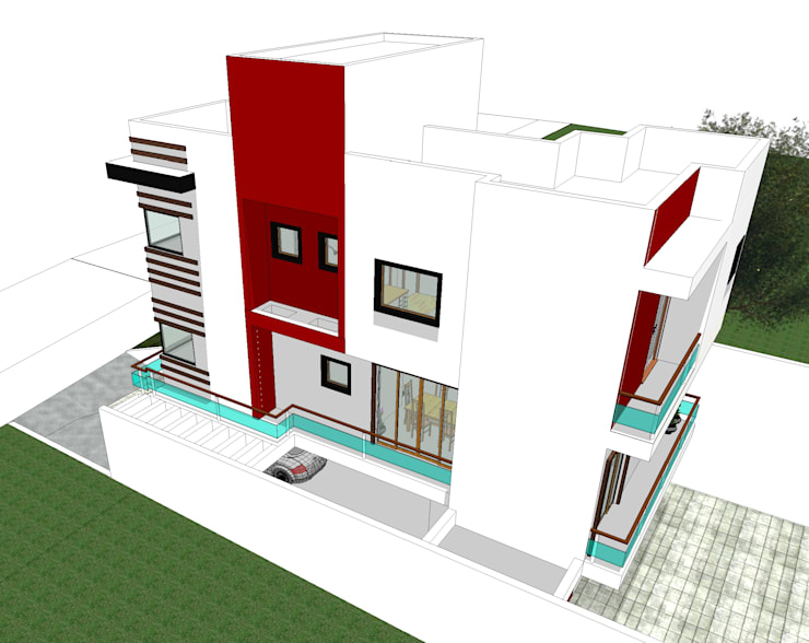 modern Houses by Rafael Alves Rocha