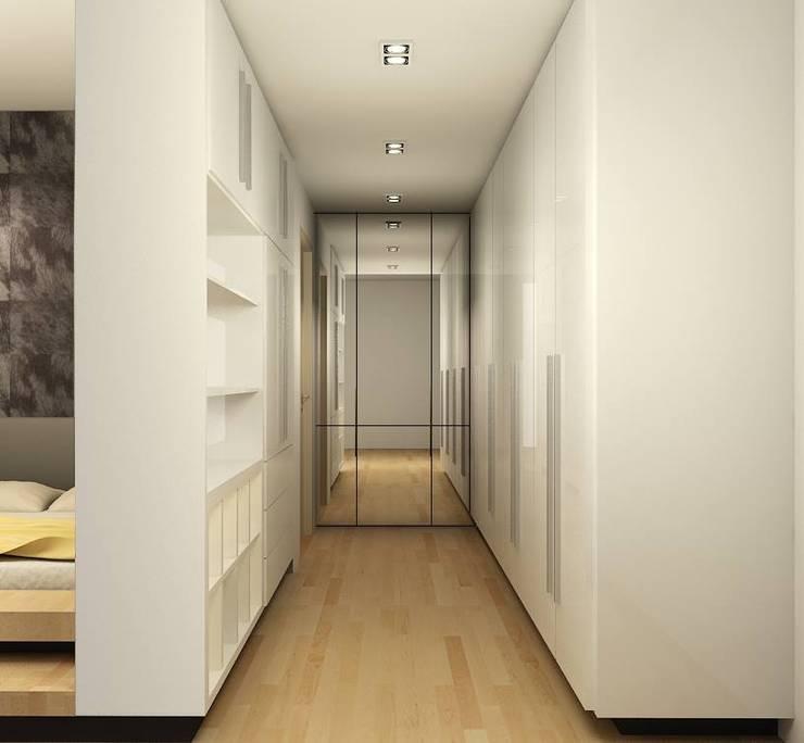 Closets  por inDfinity Design (M) SDN BHD