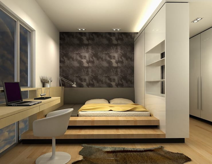 The Sanderson Home:  Bedroom by inDfinity Design (M) SDN BHD