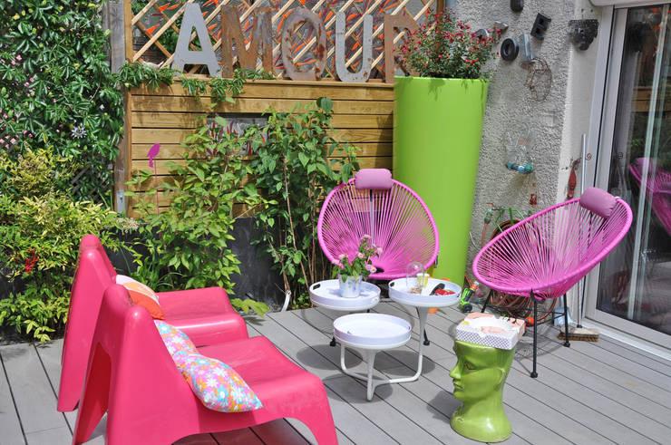Jardines de estilo  por  Sophie Durin | Empreinte Paysagère