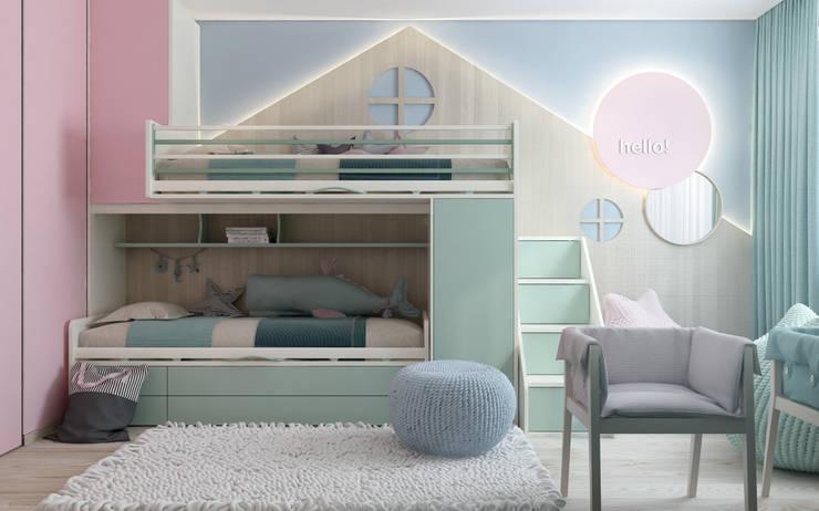 Modern Home: Детские комнаты в . Автор – Zikzak Design Studio