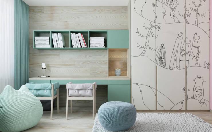 Детские комнаты в . Автор – ZIKZAK architects