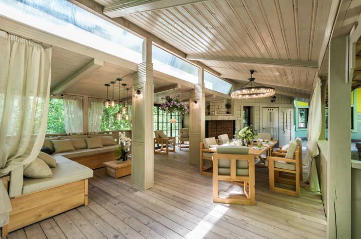 Terrasse de style  par Tony House Interior Design & Decoration, Industriel
