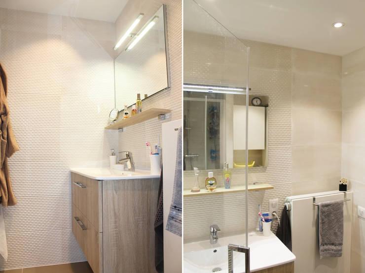 Ванные комнаты в . Автор – Agence ADI-HOME