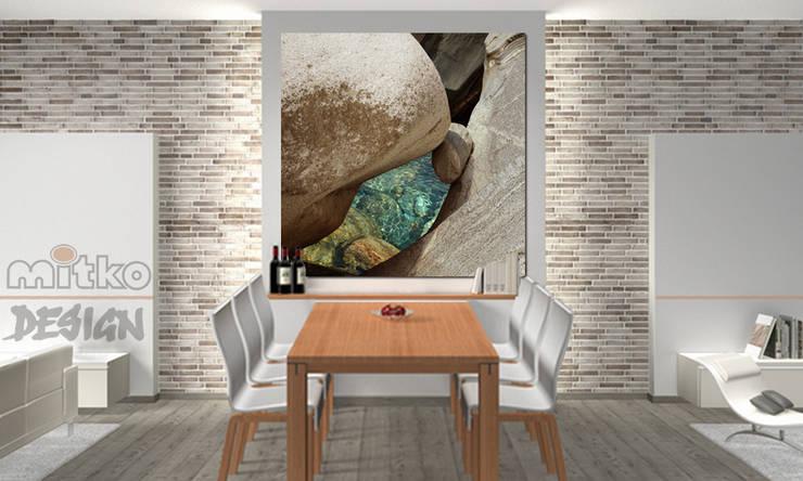 4 Glasbilder Im Esszimmer Von Mitko Design Homify