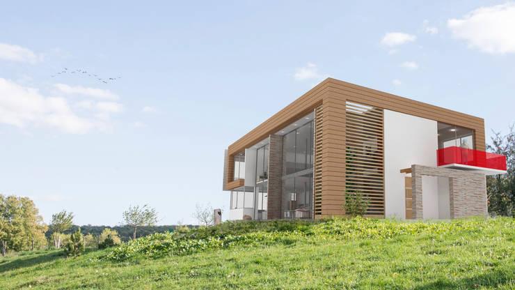 Casa Dapa LM: Casas de estilo  por COLECTIVO CREATIVO, Moderno