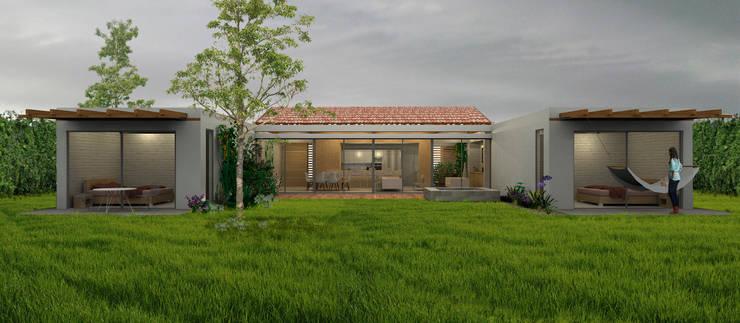 Maisons de style  par COLECTIVO CREATIVO