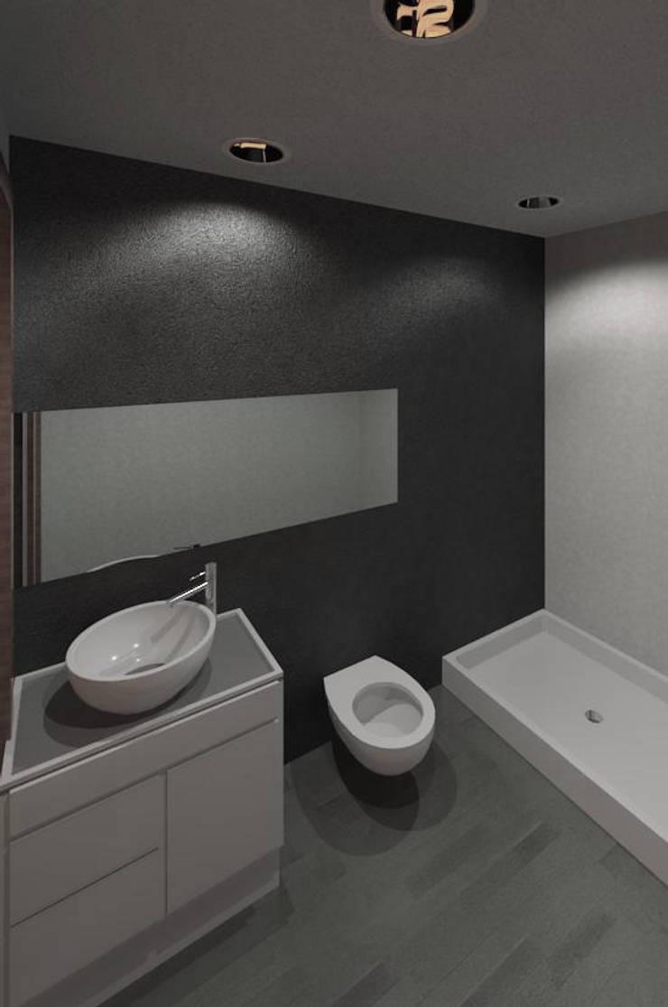 Edifico Versalles: Baños de estilo  por COLECTIVO CREATIVO