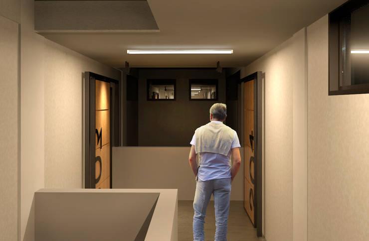Corridor & hallway by COLECTIVO CREATIVO