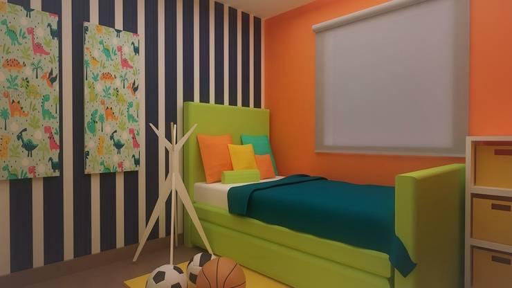 Habitaciones para niños y bebes: Recámaras infantiles de estilo  por Roccó