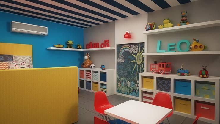 Cuartos infantiles de estilo moderno por Roccó
