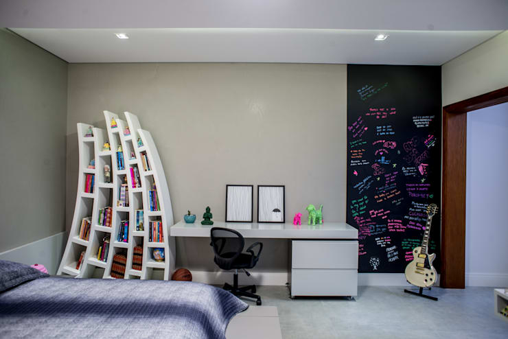 Recámaras de estilo moderno por Camila Castilho - Arquitetura e Interiores