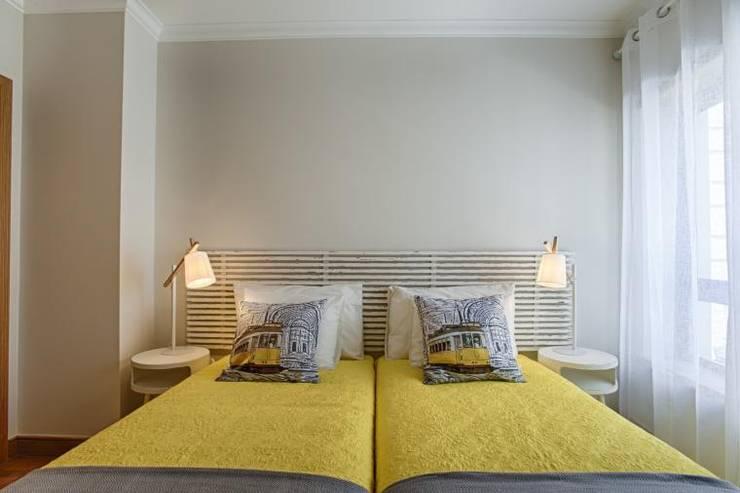 Kamar Tidur oleh EU INTERIORES, Modern