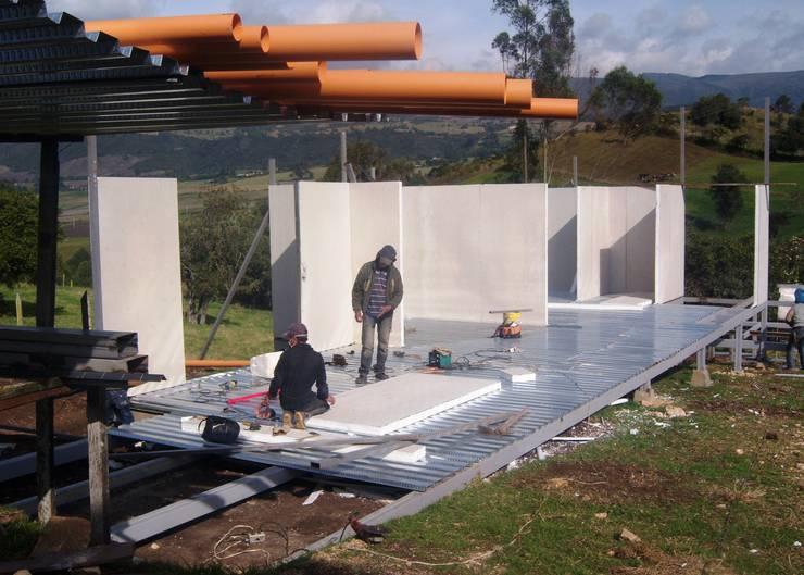 Construcción Limpia:  de estilo  por Sistemas de construcción enceco