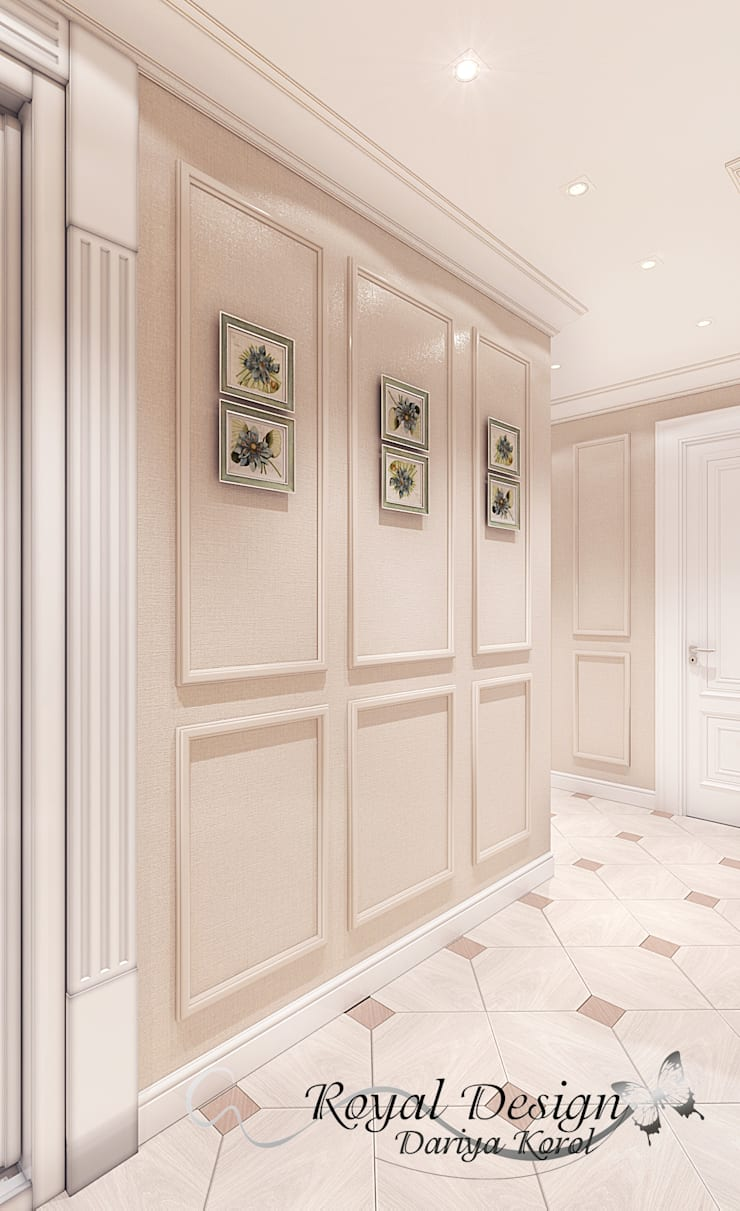Corridor & hallway by Your royal design, Country