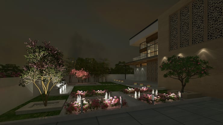 by De Panache - Interior Architects Класичний Бетон