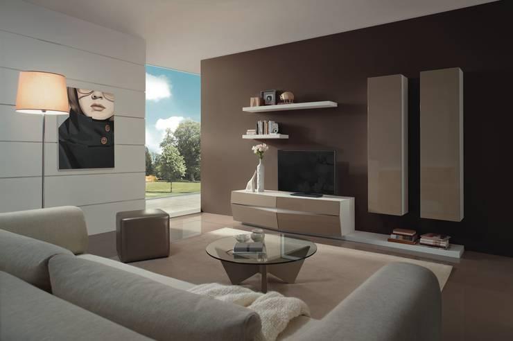 http://intense-mobiliario.com/pt/salas-de-estar/8569-sala-de-estar-berlin-b4.html: Sala de estar  por Intense mobiliário e interiores;