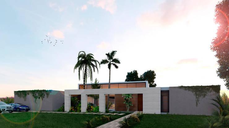 Casa La Morada HV: Casas de estilo  por COLECTIVO CREATIVO